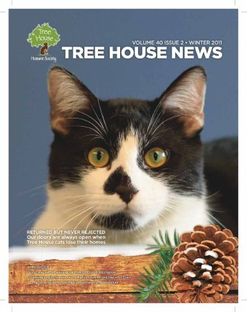 Fall/Winter 2011 - Tree House Humane Society