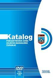 Katalog poduzetničkih zona - Osječko baranjska županija