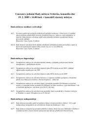 Usnesení z jednání Rady městyse Svitávka, konaného dne 19. 2 ...