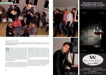 Gans und Tanz - Steffen & Partner Steuerberatungsgesellschaft