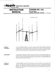 INSTRUCTION MANUAL - CB Tricks