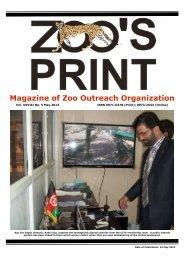 Magazine of Zoo Outreach Organization - zoo's print