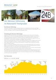 Meraner Höhenweg PDF mit den Unterkünften ... - Meraner Land