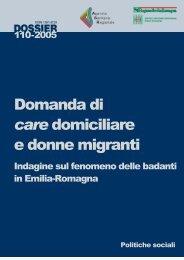 Domanda di care domiciliare e donne migranti - Alla pari - Regione ...