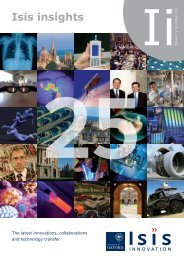 Isis Insights Ezine 25th Anniversary edition - Isis Innovation
