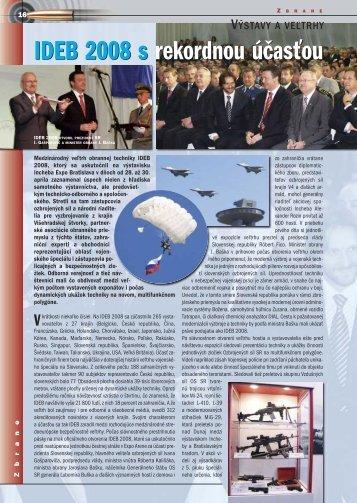 16-17 IDEB 2008:Zbrane new _ zbrane - IDEB – MEDZINÁRODNÝ ...