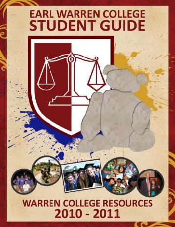 STUDENT GUIDE - Earl Warren College - UC San Diego