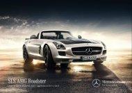 SLS AMG Roadster - video - Mercedes-Benz Italia
