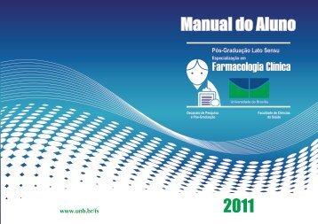 Manual do Aluno - Faculdade de Ciências da Saúde / UnB