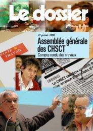 Assemblée générale des CHSCT - Free