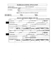 Marriage License Application - Pitt County Government
