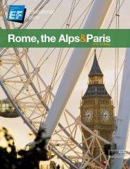 Rome, the Alps&Paris - EF Educational Tours