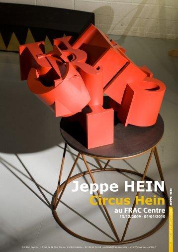 Jeppe HEIN - FRAC Centre