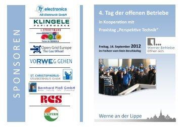 Tag der offenen Betriebe 2012 - Werne