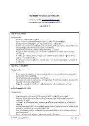 ISO 26000 fortalezas y debilidades - ISO 26000, an estimation