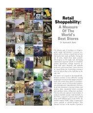 Retail Shoppability: - Kelley School of Business - Indiana University