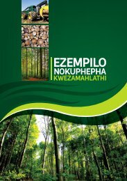 Health and Safety in Forestry- IsiZulu - Department of Labour
