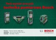 technika pomiarowa Bosch
