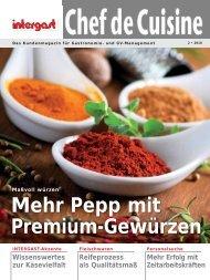Mehr Pepp mit Premium-Gewürzen - Intergast