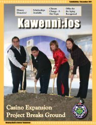 Casino Expansion Project Breaks Ground - Saint Regis Mohawk Tribe