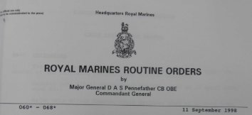RMRO 66 Royal Marines Aircrewman Branch (RMAC) - RM badges