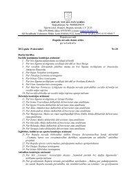 19. decembra domes sēdes protokols - Ropaži.lv