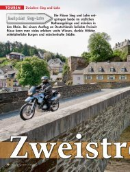 Motorrad News – Sieg-Lahn - Motorcycle-Daydream.de