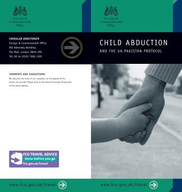 Child Abduction and the UK-Pakistan Protocol FCO[1].pdf - Reunite