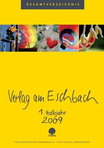 E schbacher Im pulskarten - Verlag am Eschbach
