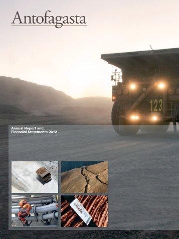 Annual Report 2012 - Antofagasta plc