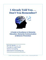 A Guide to Excellence in Dementia Education, Dementia ...