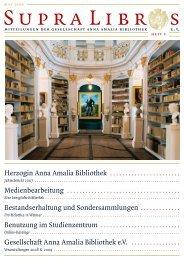 Herzogin Anna Amalia Bibliothek - GAAB