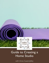 Guide to Creating a Home Studio - Curvy Yoga