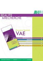la VAE - ANFH