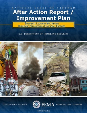 After Action Report - Governor's Office of Homeland Security ...