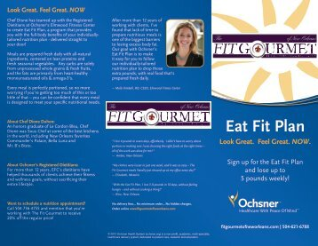 Eat Fit Plan Look Great. Feel Great. NOW. - The Fit Gourmet of New ...