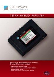 TETRA HYBRID REPEATER