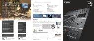 Studios that Act Analog but Think Digital - Yamaha Downloads