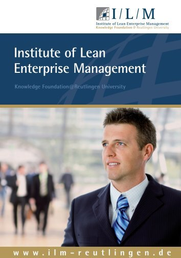 Institute of Lean Enterprise Management - I/L/M