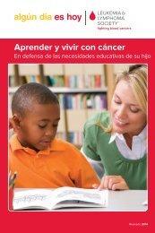 Aprender y vivir con cáncer - The Leukemia & Lymphoma Society