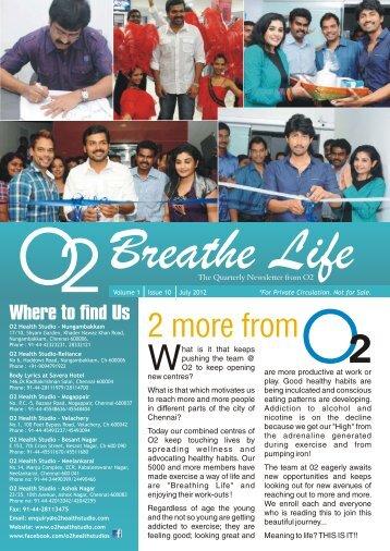 Testimonials fr - O2 Health Studio