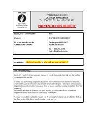 29/09/2010 - Diefstal met list-wie belt er aan de deur?