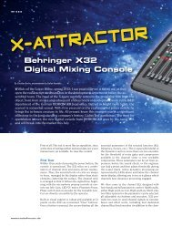 laboratory time - Behringer