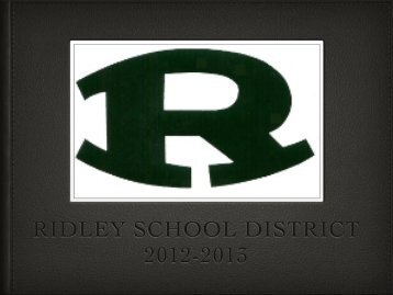 Closing Meeting - Ridley School District