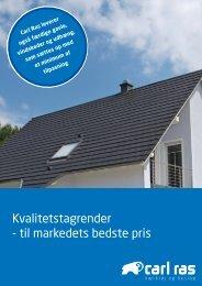 Kvalitetstagrender - til markedets bedste pris - Carl Ras