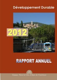 Rapport Developpement Durable Final - Grasse