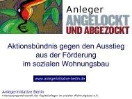 Dr. Christian Stari - Interessengemeinschaft der Kapitalanleger im ...
