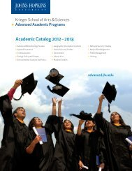 AAP Course Catalog 2012/2013 - Advanced Academic Programs