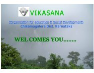 Vikasana_project_presentation - Asha for Education