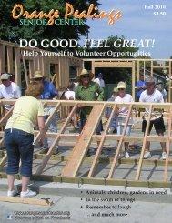 DO GOOD. FEEL GREAT! - Orange Senior Center